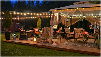 backyard entertaining area, backyard sitting area