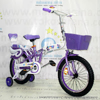 Kouan 1601 Hexagon Sepeda Lipat Anak 16 Inci