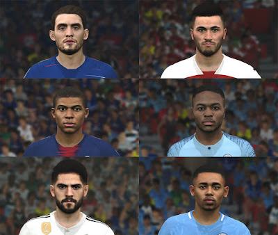PES 2017 Facepack vol 6 by BenHussam Facemaker