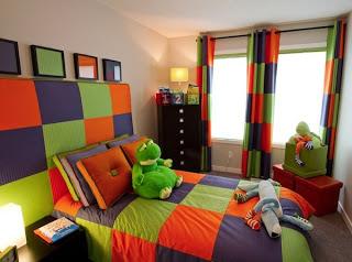Dormitorios coloridos para niñas