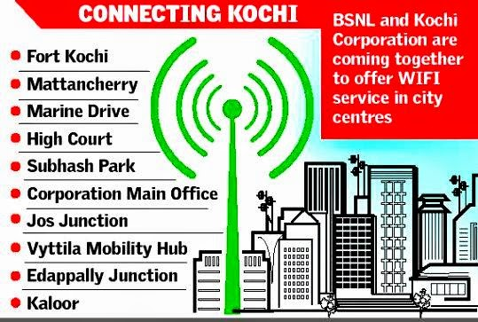 BSNL-started-testing-of-Free-WiFi-Hotspots-in-Kochi