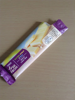 tesco free from white choc bar
