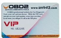UOBD2 VIP Card