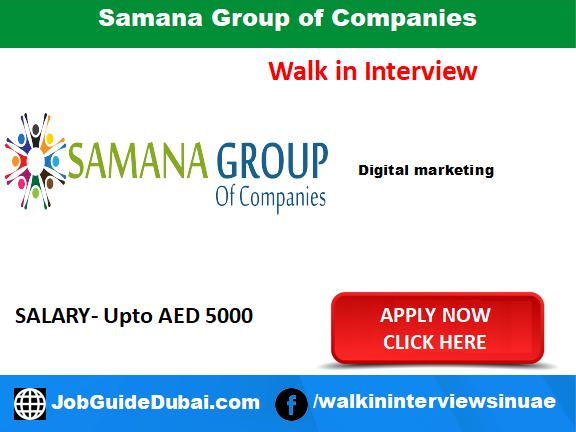 Job in Dubai for Digital Marketing