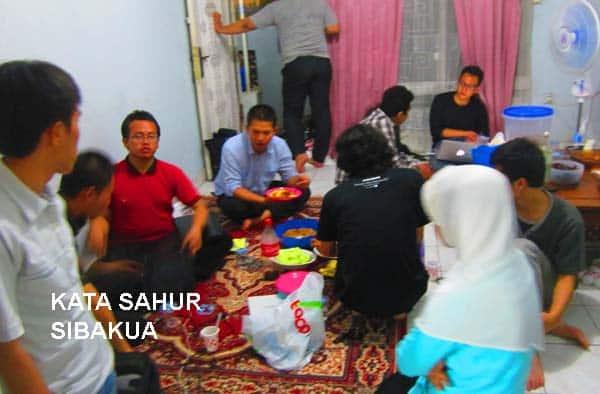 Kata Selamat Sahur Puasa Ramadan untuk Caption dan Status