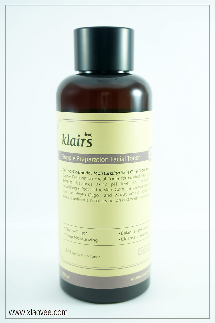 Klairs Supple Preparation Facial Toner Review, Korean Klairs Skincare Brand, Wishtrend, No animal testing skincare, cruelty free skincare, paraben free skincare