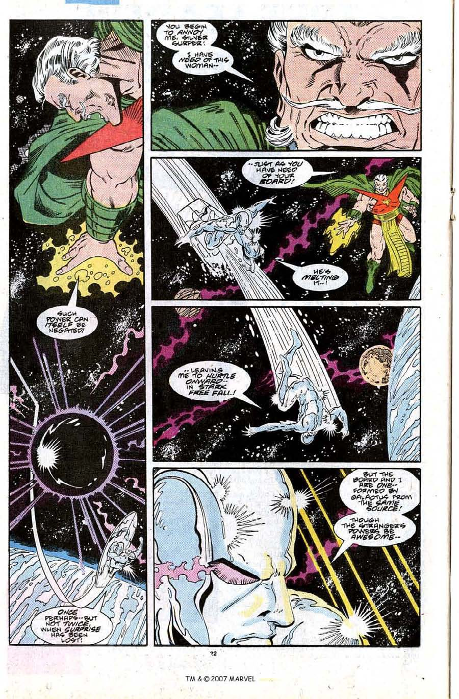 Read online Silver Surfer (1987) comic -  Issue #27 - 24