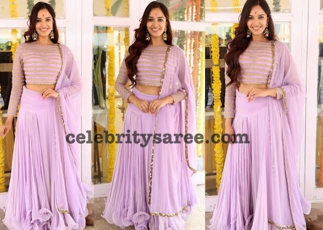 Ponnada Poojitha Designer Lehenga