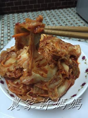 一定要吃的許媽媽韓式泡菜