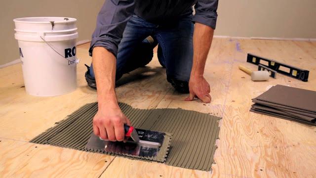 Cara Paling Mudah Memasang Keramik Lantai Semua Ukuran