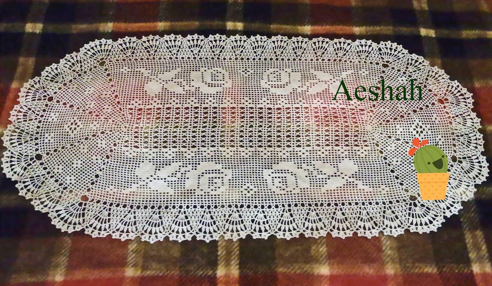 L uncinetto di adriana tappeto di rose