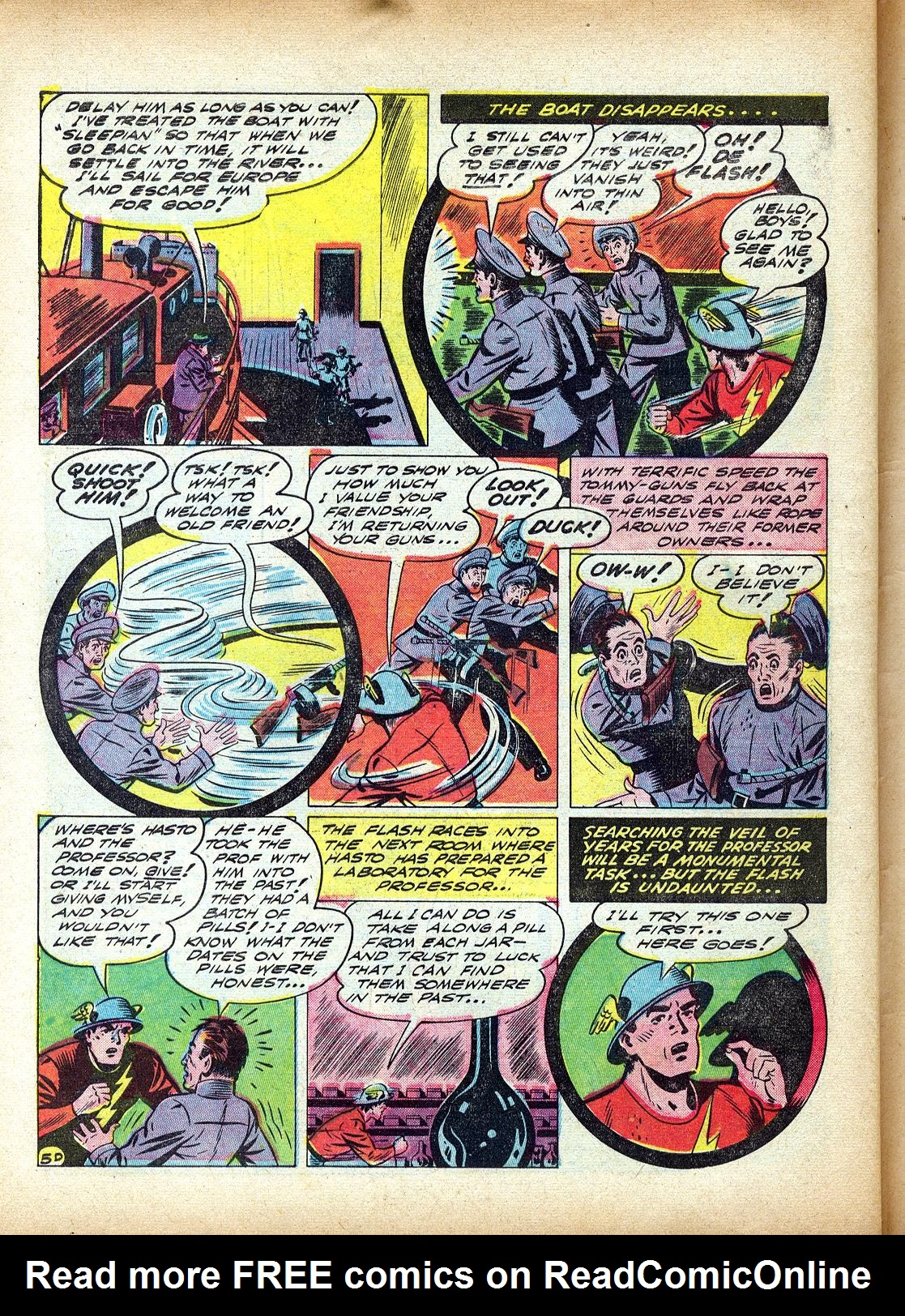 Read online All-Flash comic -  Issue #4 - 57