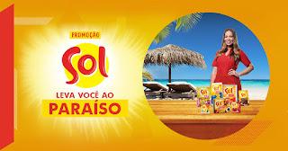 Promoção Sol Leva Você ao Paraíso