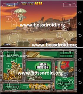 Metal Slug XX PPSSPP PSP Iso untuk Android