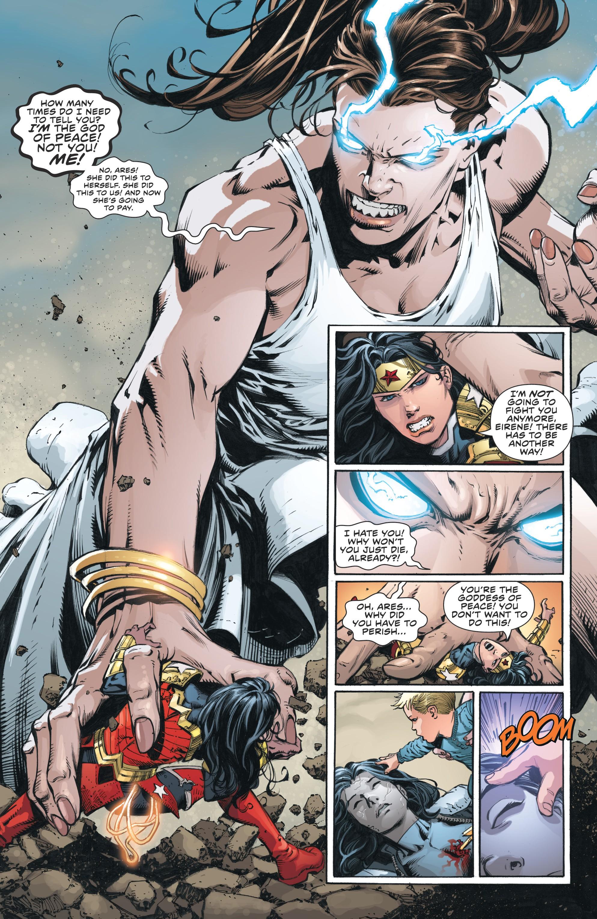 Read online Wonder Woman (2011) comic -  Issue #46 - 21