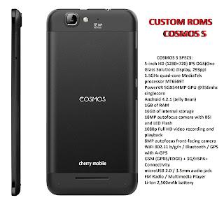 CM COSMOS S ROMs
