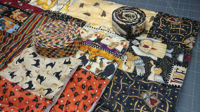 Charity quilts from Debbie Mumm fabric