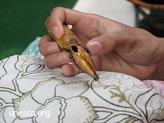 Proses Batik Tulis