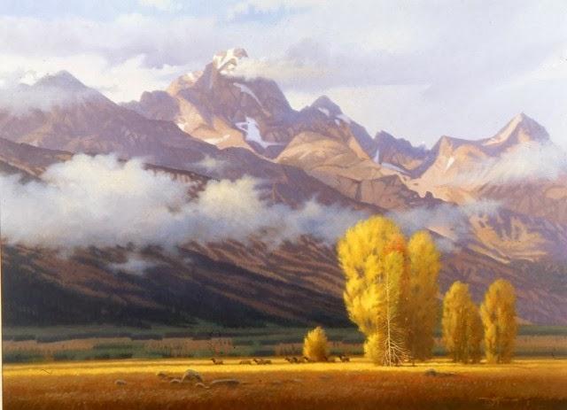 Американский художник. Tom Heflin