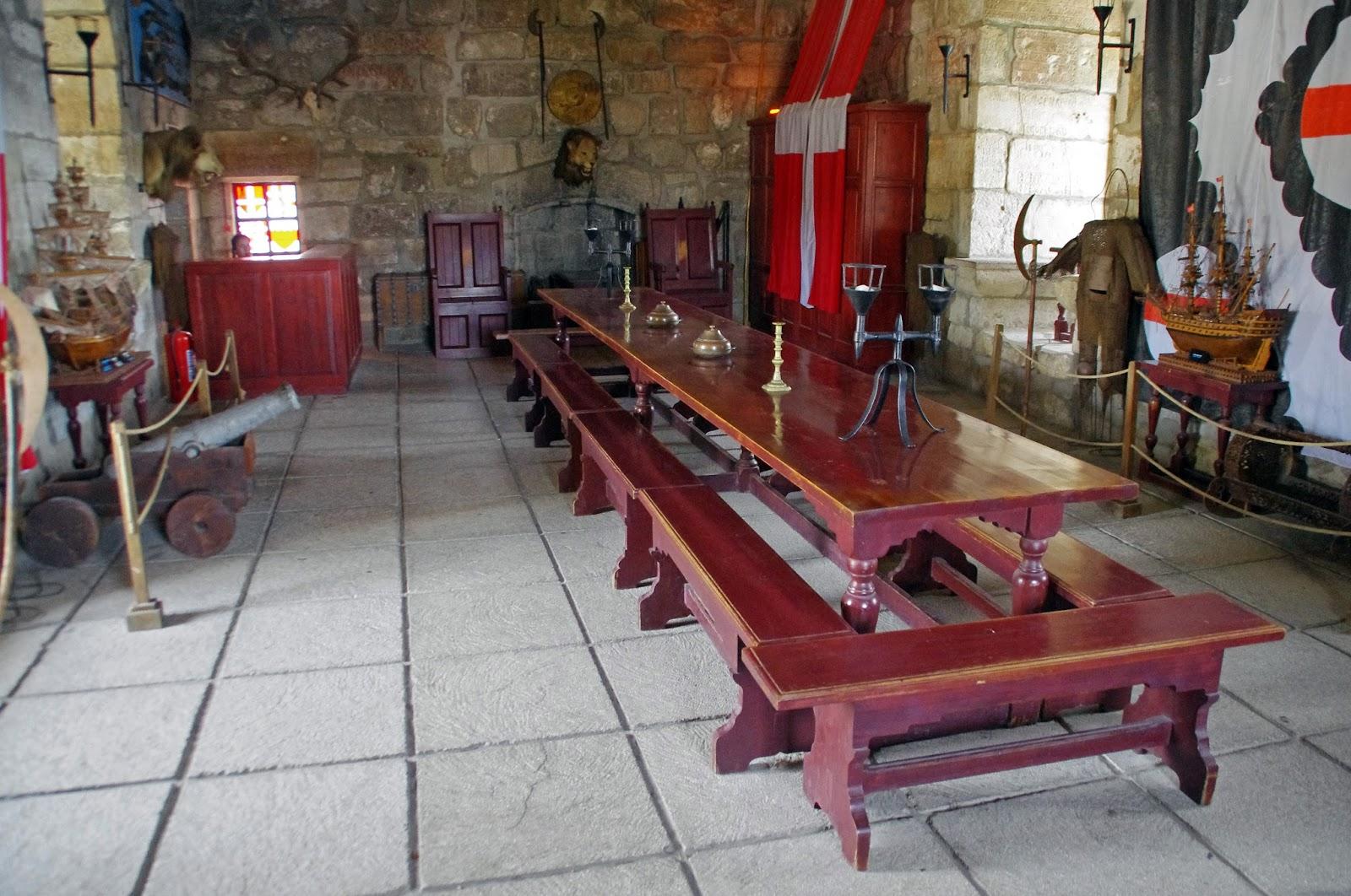 Bodrum Castle Interiors