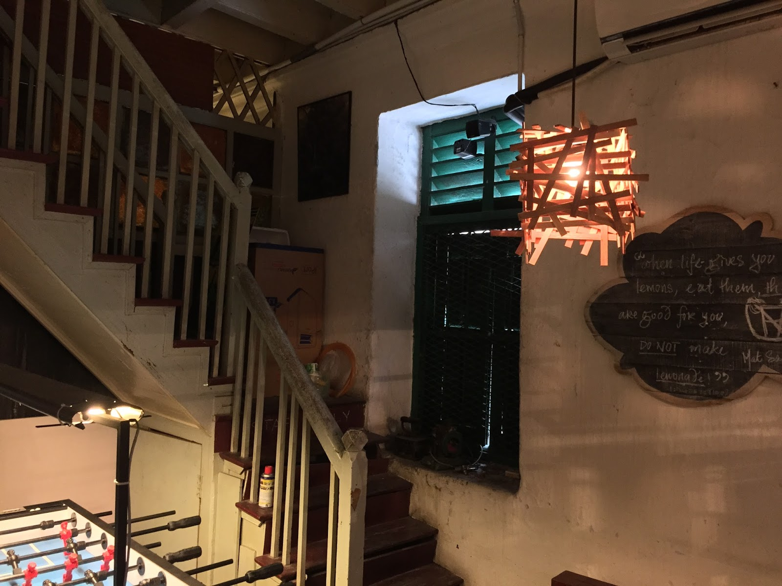 Penang Cafes - The Mugshot Cafe Interior