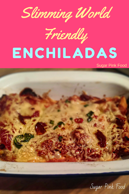 """I Can't believe it's not Enchiladas!"" slimming world recipe"