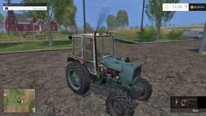 UMZ 6KL 4×4 turbo tractor
