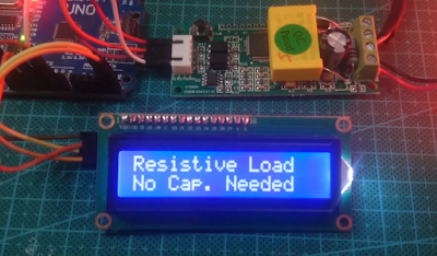 Arduino calculate the capacitor value for PFC