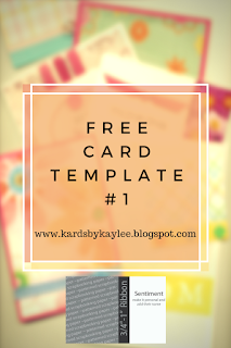 free handmade card template or pattern. make your own greeting acrds