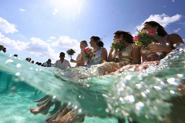 incrivel casamento realizado no mar no caribe 16 - Um casamento no meio do mar. Diferente de tudo que você já viu.