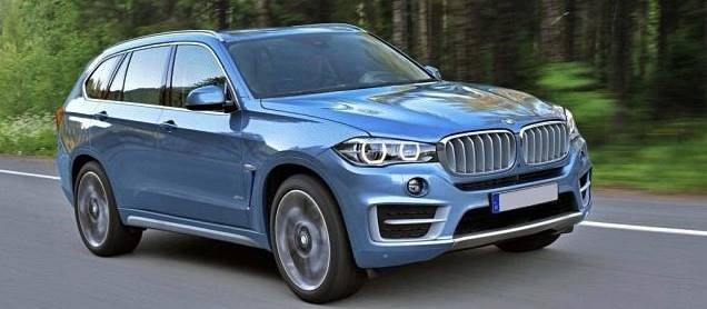 Upcoming BMW X7 SUV 2018