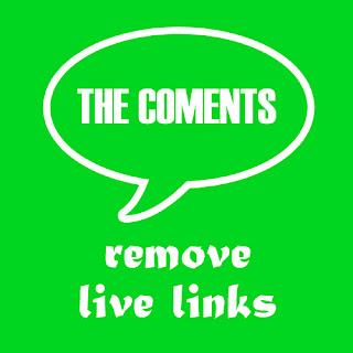 Hapus Otomatis Komentar dengan Link Hidup