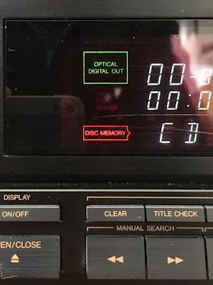 Victor XL-Z711 デジタルアウト 接続表示画面