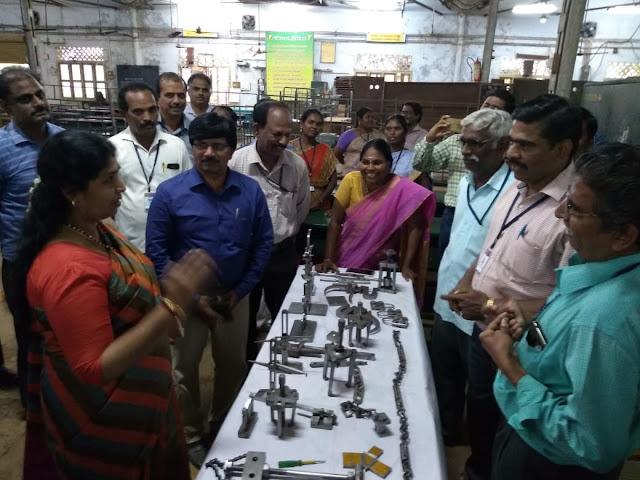 THE COMMISSIONER VISITED TO FITTER TRADE