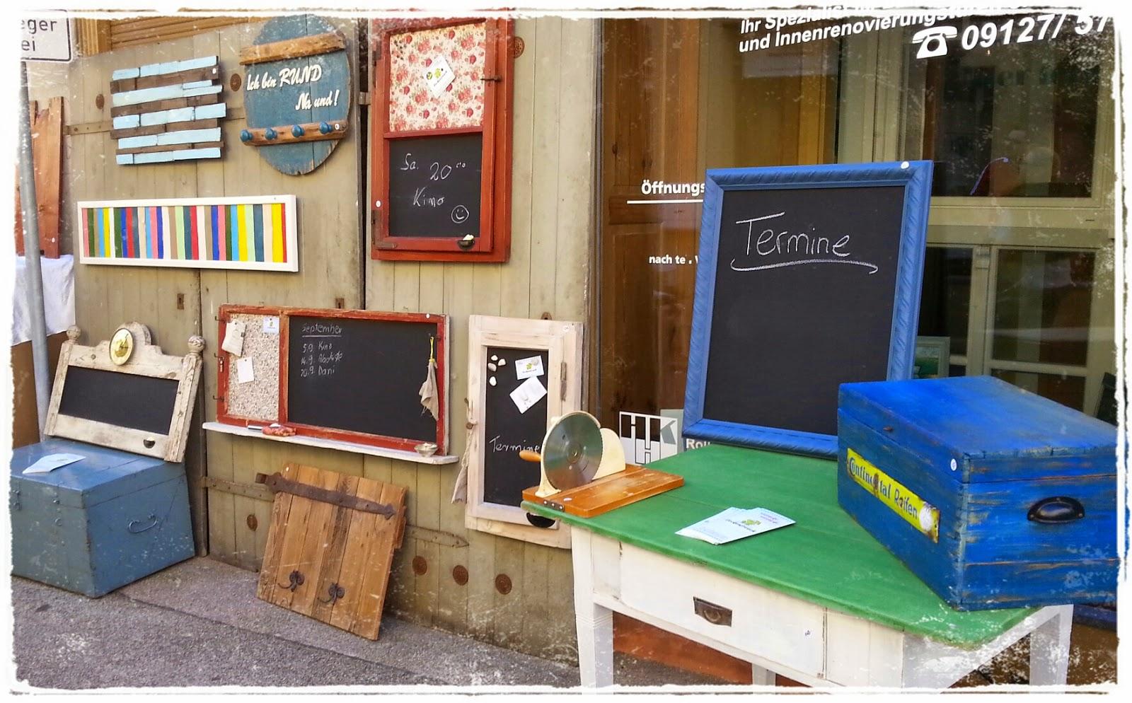 Lockenfrosch: Vintage-Möbel