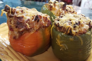 Fiesta Stuffed Bell Peppers