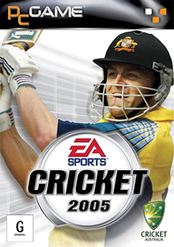 EA Cricket 2005 Download Cover Free Game