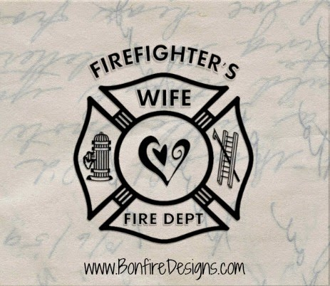 Firefighters Wife Personalized Gifts and T-Shirts