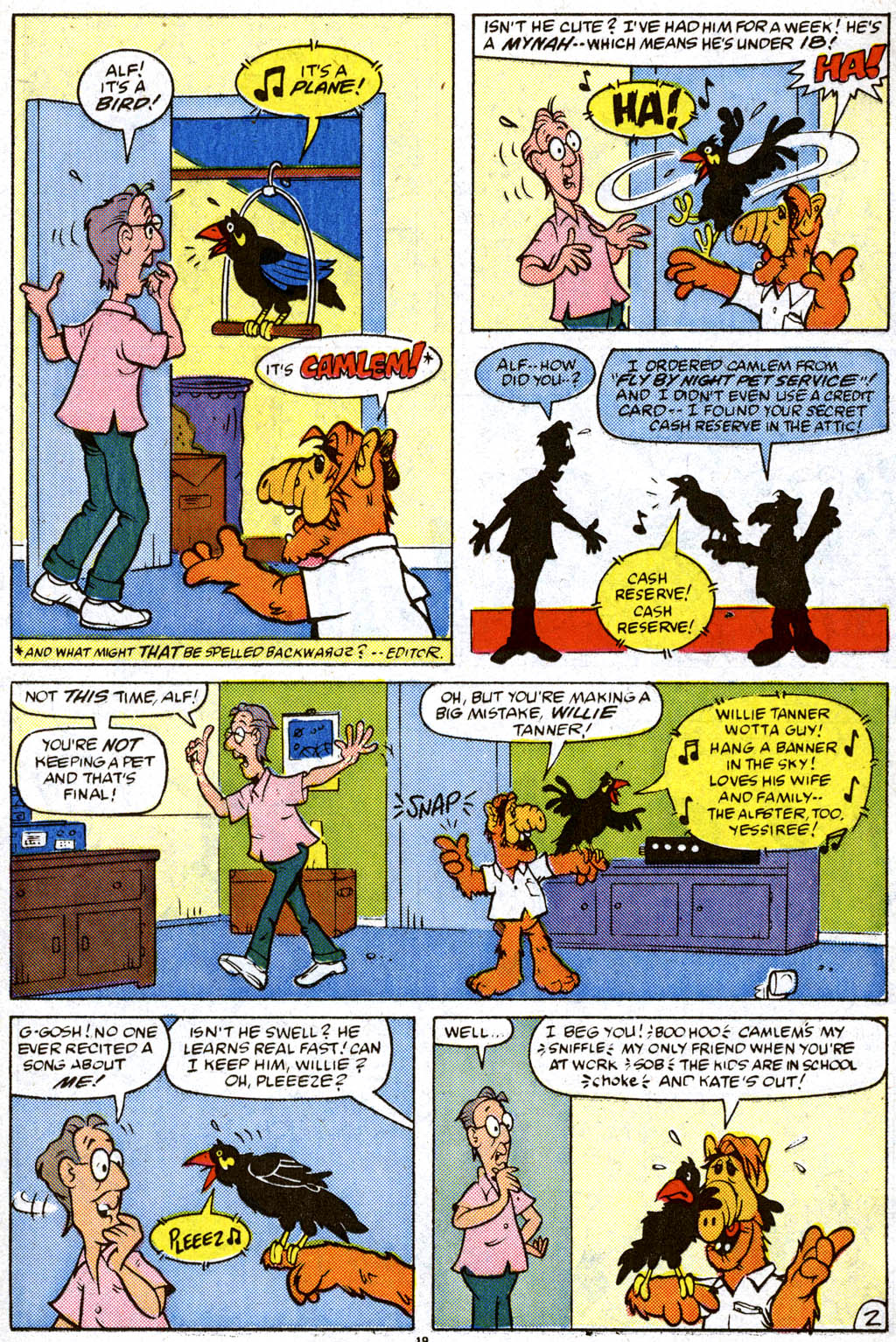 Read online ALF comic -  Issue #11 - 15