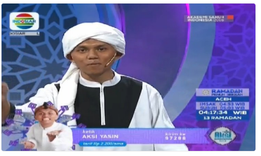 Peserta AKSI Akademi Sahur Indonesia yang Mudik Tgl 19 Juni 2016 (Group 3)