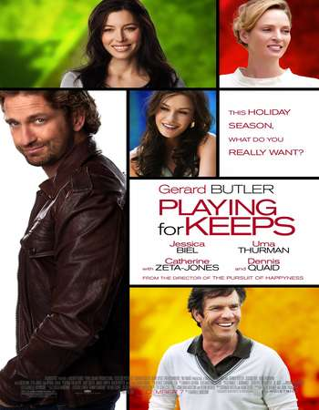 Playing for Keeps 2012 Hindi Dual Audio 450MB BluRay 720p ESubs HEVC