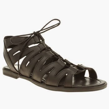Schuh Game On Gladiator Sandals Black