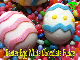 Easter Egg White Chocolate Fudge Everyday Parties
