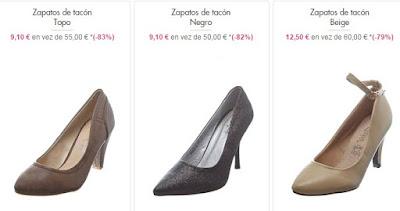 zapatos tacon baratos