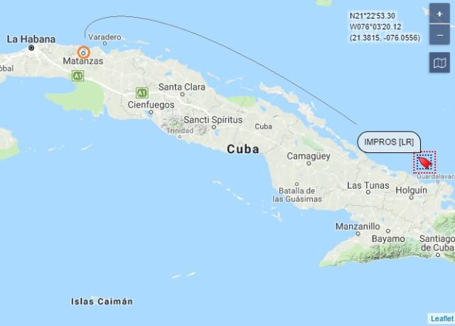 Maduro envió buque con medio millón de litros de gasolina a Cuba