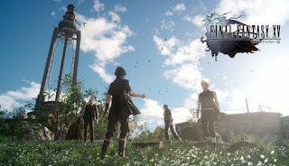 Bugs Final Fantasy XV Saat Noctis Dan Temannya Kendarai Mobil