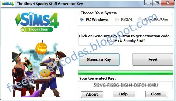 download key generator the sims 4