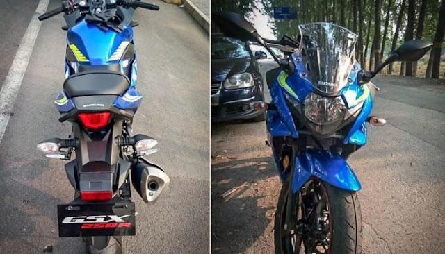 Suzuki GSX-R250 2017 Di Kesan Di Indonesia