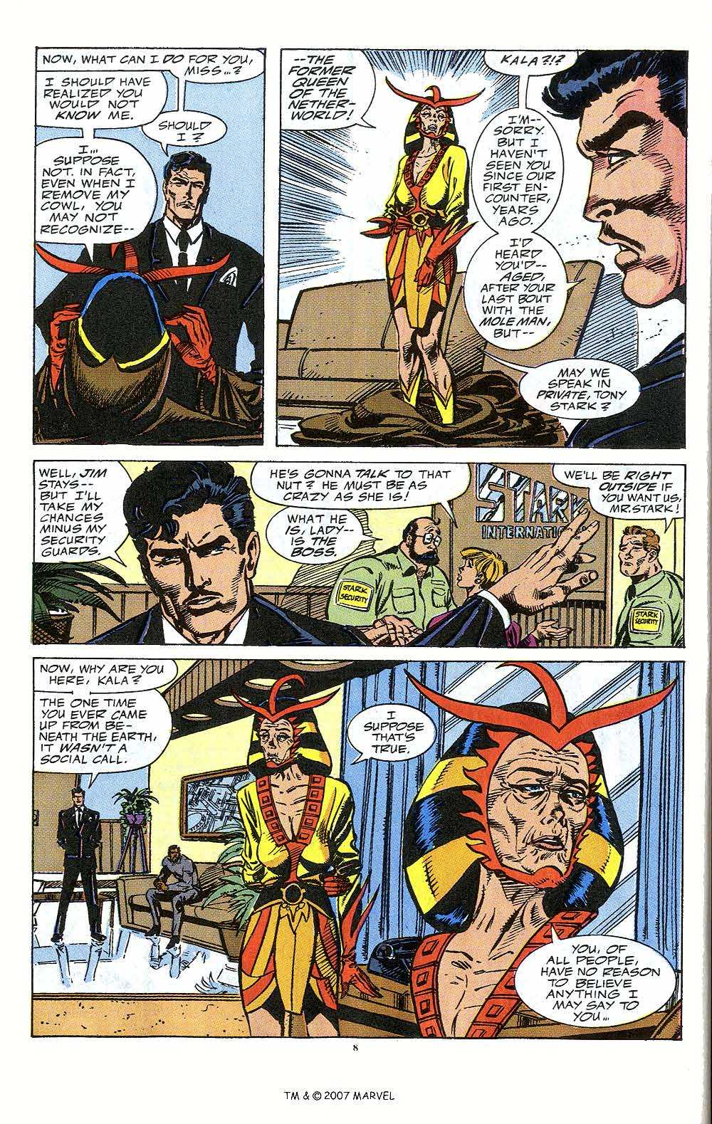 Iron Man Annual issue 12 - Page 10