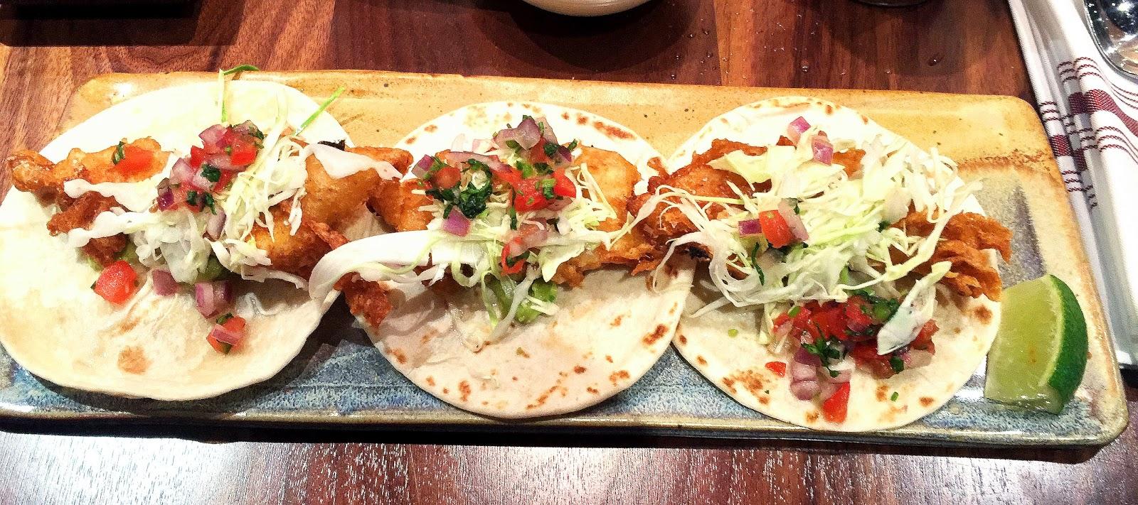 Get whit it for Baja fish tacos menu